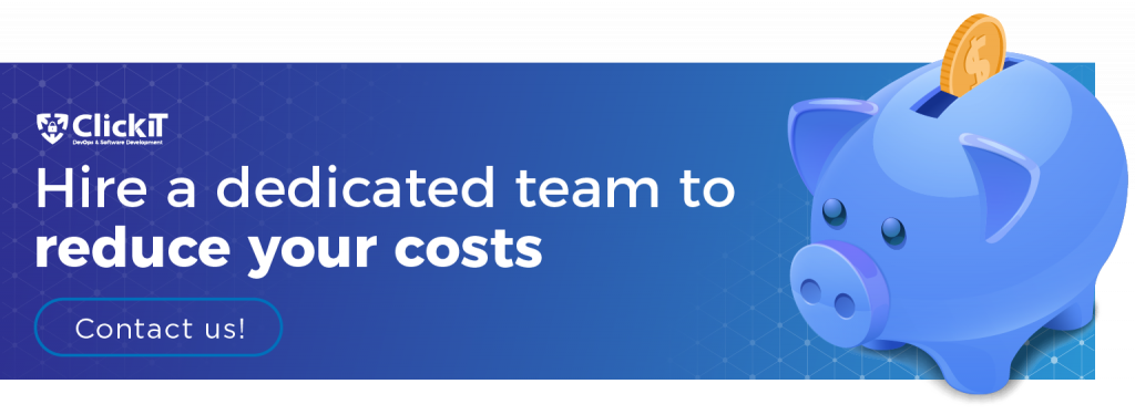hire a dedicated team to reduce your costs