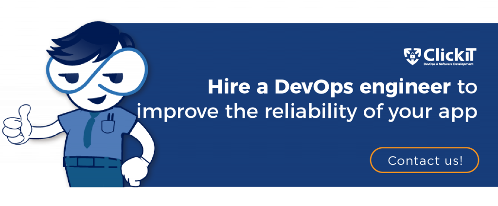 hire a devops engineer to improve the reliability of your app