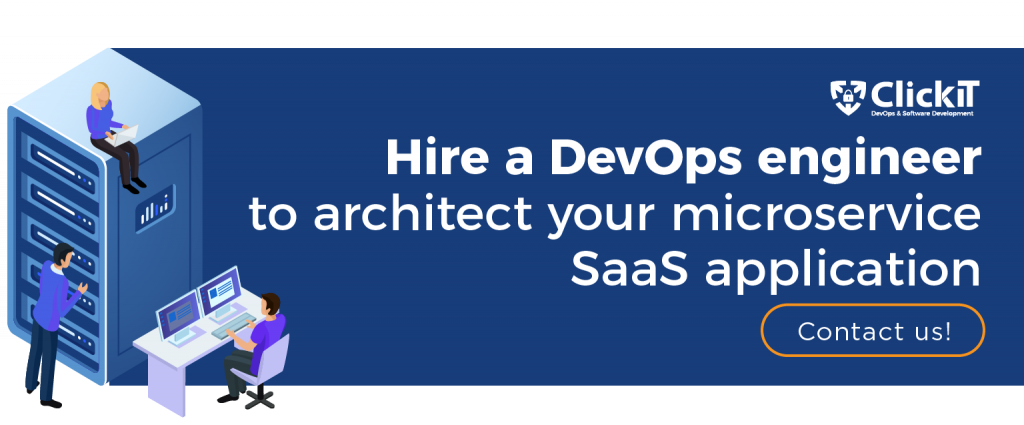 hire a devops engineer to architect your microservice saas application