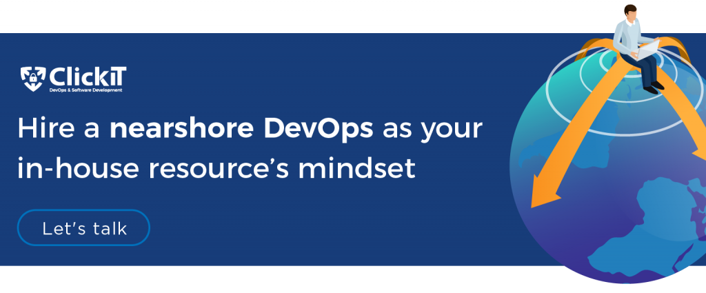hire a nearshore devops as your inhouse resource mindset