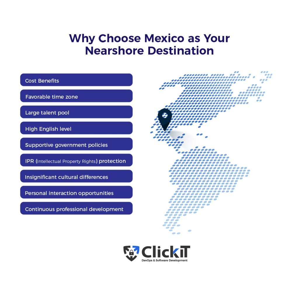 why choose mexico as your nearshore destination