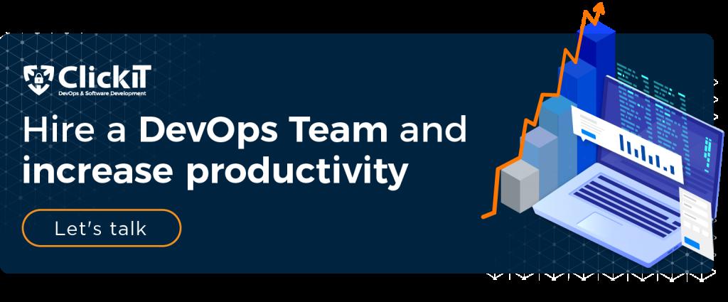hire a devops team and icnreze productivity