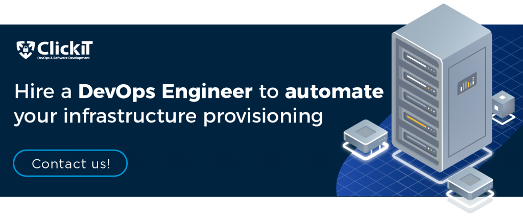 hire a devops engineer to automate your infrastructure provisioning