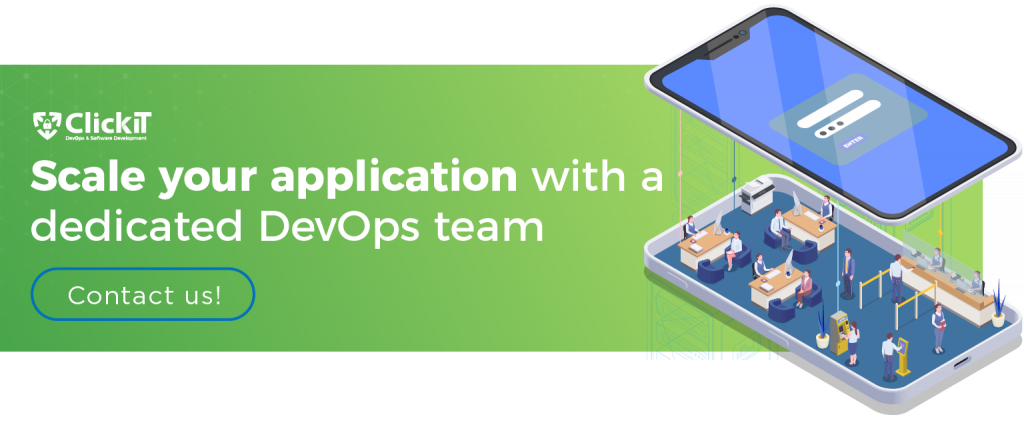 scale your app with a devops team