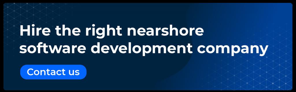 hire the right nearshore software development company