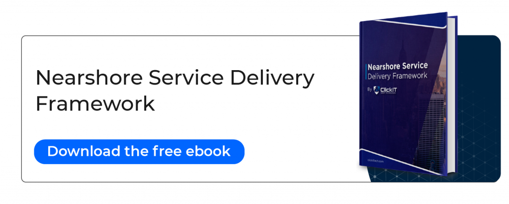 nearshore service delivery framework