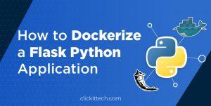 dockerize flask python application