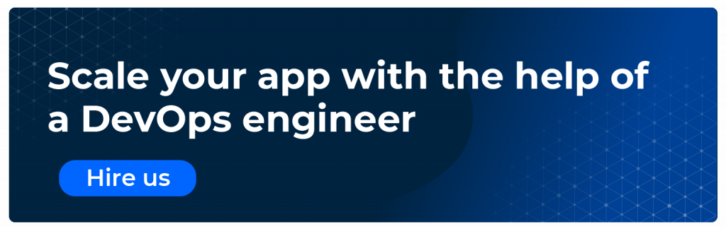scale your app with the help of a devops engineer